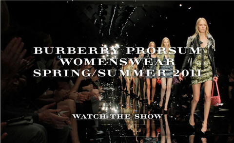 Burberry Prorsum Womenswear spring-summer 2011 Show